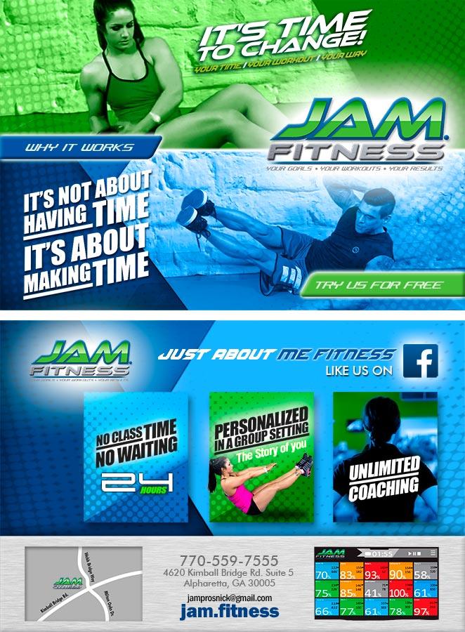 Jam Fitness Flyer